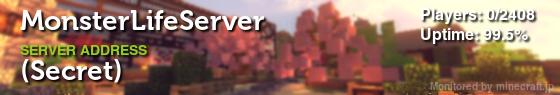 JapanMinecraftServersにアクセスできるバナー